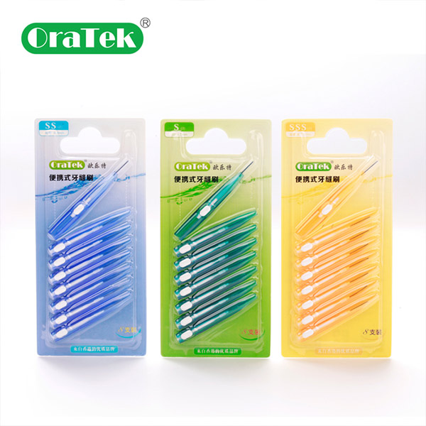 Extension-Type I Shaped Interdental Brush